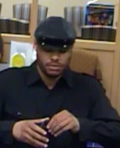 Police released this surveillance image from Fulton Bank robbery in Newark.