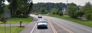 Fatal crash happened on curve in this area of Route 24 approaching Godwin School Road. (Photo: Google maps)