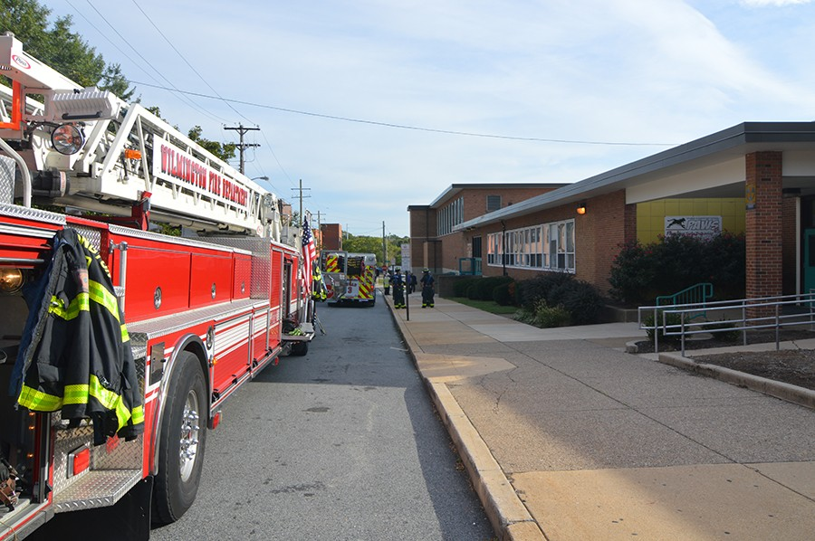 Fire kept students out of Stubbs Elementary School. (Photo: Delaware Free News)