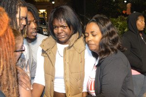 Thomas Cottingham was protecting Amadi Muhamed (center) and her baby when he was killed. (Photo: Delaware Free News)