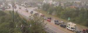 Traffic was diverted off southbound Route 1 at the South Smyrna exit onto U.S. 13 .(Photo: DelDOT traffic cam)