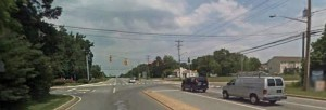 Old Baltimore Pike at Walther Road (Photo: Google maps)