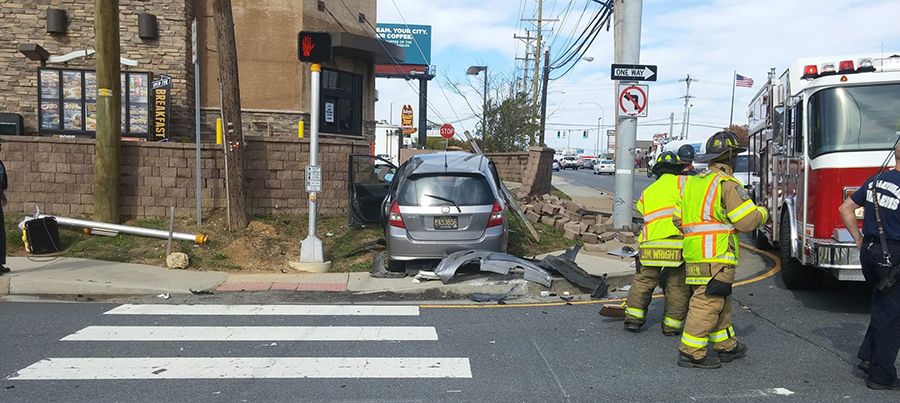 Accident scene at Concord Pike and Mount Lebanon Road. (Photo: Delaware State Police)