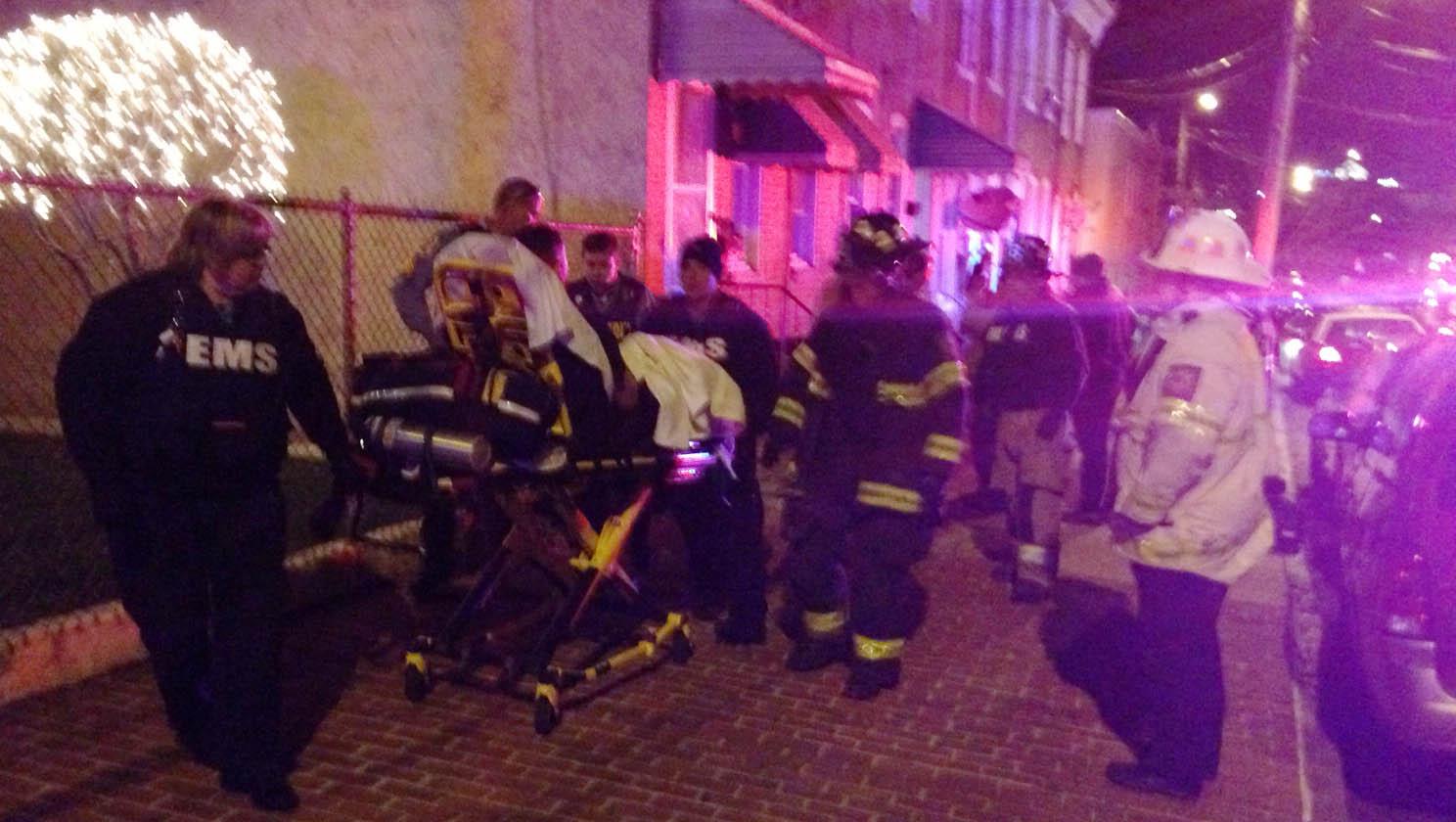 Shooting scene on Brown Street in Wilmington. (Photo: Delaware Free News)