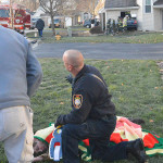 Two women were taken to a hospital after Colefax Court crash. (Photo: Delaware Free News)