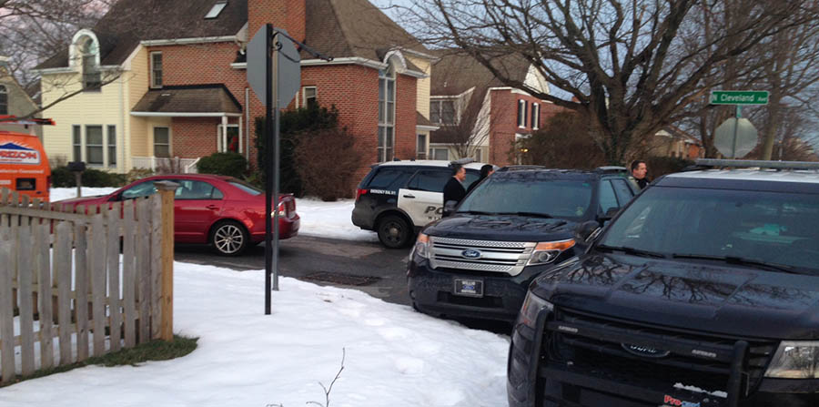 Sen. Chris Coons' stolen Ford Explorer was recovered at Sixth Street and West Cleveland Avenue in Wilmington. (Photo: Delaware Free News)