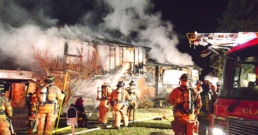 Scene of fatal fire on Abington Road in Dartmouth Woods (Photo: Delaware Free News)
