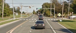 East Main Street at Silver Lake Road in Middletown (Photo: Google maps)