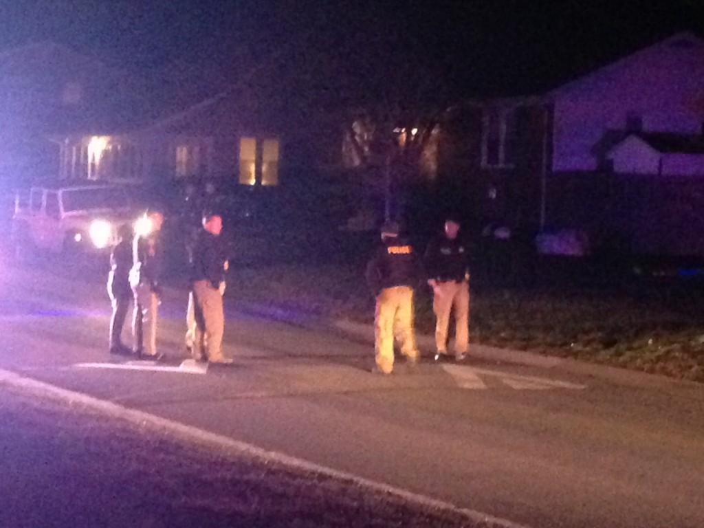 Police investigate stabbing in Boxwood. (Photo: Delaware Free News)
