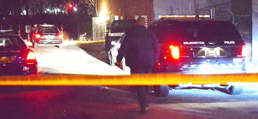 Police investigate homicide in 1200 block of N. Locust St. in Wilmington. (Photo: Delaware Free News)
