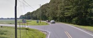 Mt. Joy Road at Cordrey Road east of Millsboro