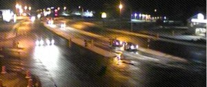 Route 1 at Five Points near Lewes (Photo: DelDOT traffic cam)