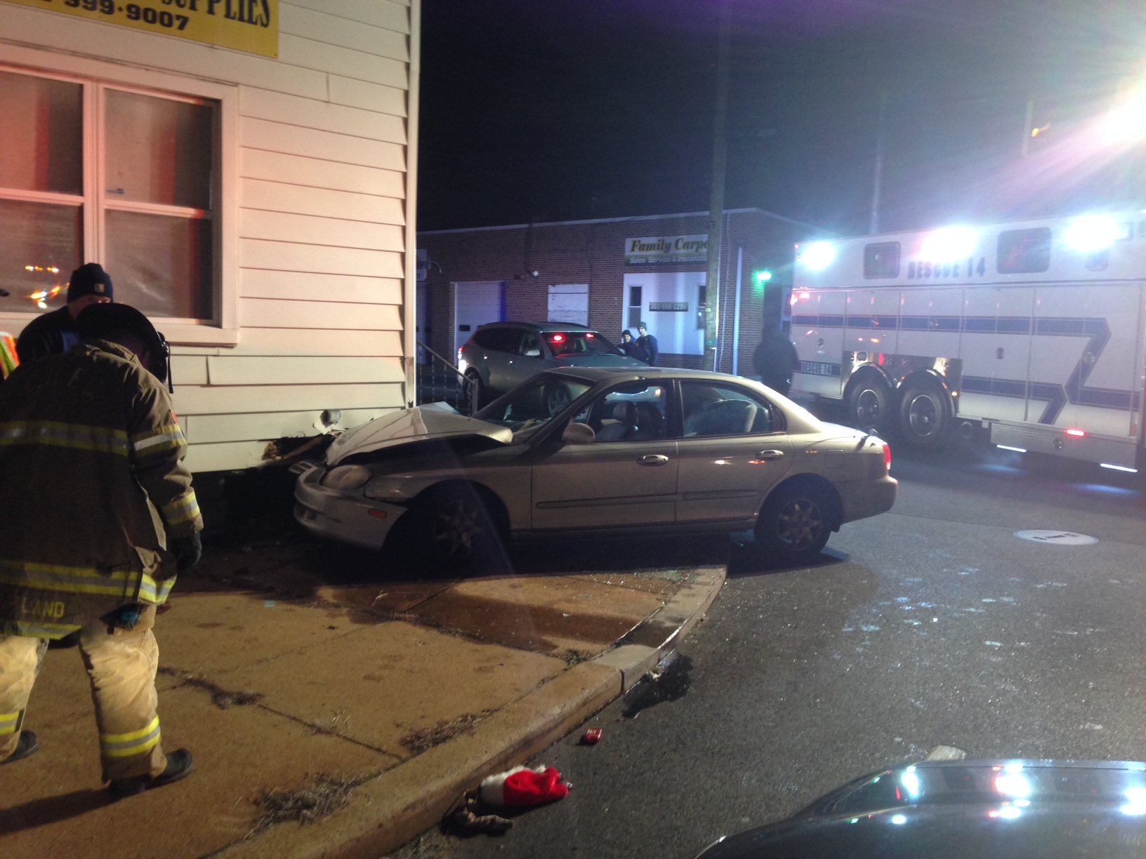 Crash scene (Photo: Delaware Free News)
