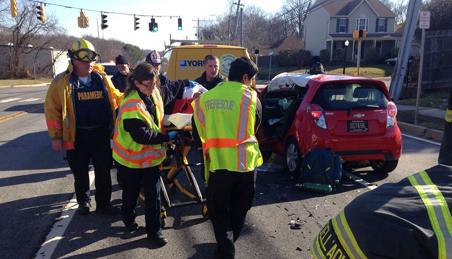 Glasgow, Delaware, Old Baltimore Pike crash