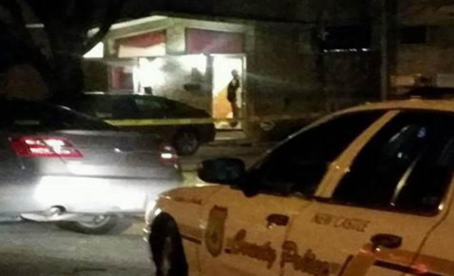 Shooting scene in Oakmont (Photo: New Castle County police)
