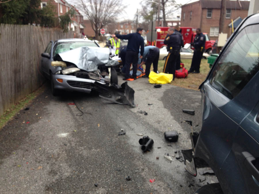 Elsmere crash (Photo: Delaware Free News)