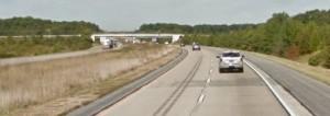 Northbound Route 1 near Smyrna (Photo; Google maps)