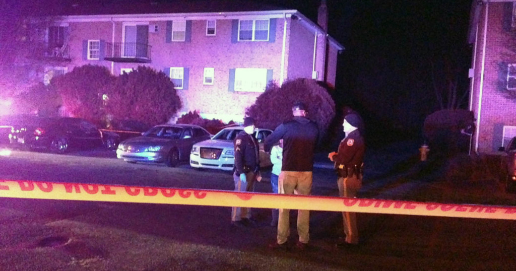 Man was shot to death at Prides Court apartments. (Photo: Delaware Free News)