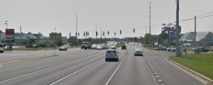 Route 1 intersection at Miller Road (Photo: Google maps)