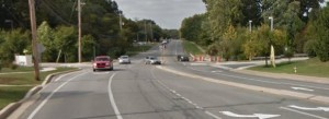 Salem Church Road north of U.S. 40 (Photo: Google maps)