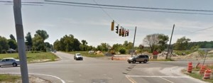 Gravel Hill Road (Route 30) at Lewes Georgetown Highway (U.S. 9) (Photo: Google maps)