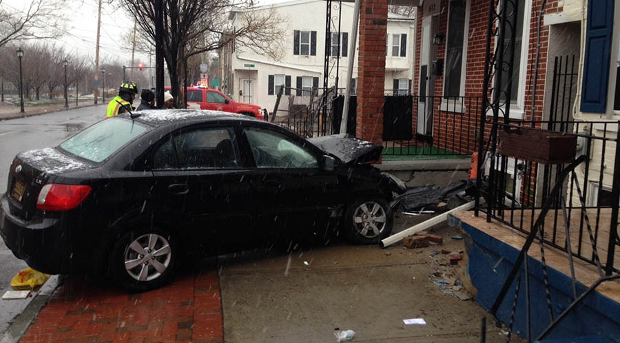 Accident scene in Wilmington (Photo: Delaware Free News)
