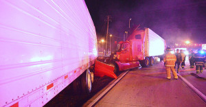 Accident scene on Route 896 in Glasgow (Photo: Delaware Free News)