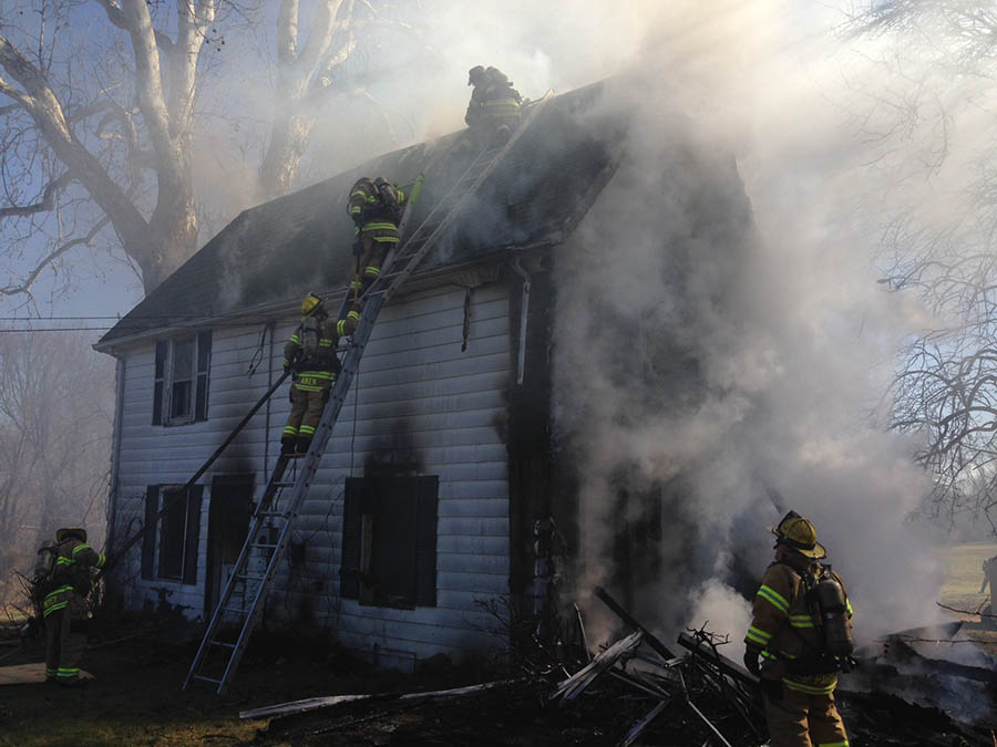 Fire on Buttonwood Avenue was ruled arson. (Photo: Delaware Free News)