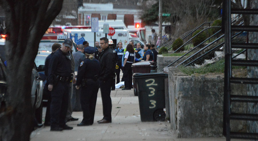 Wilmington police investigate homicide in the 200 block of Connell St. (Photo: Delaware Free News)