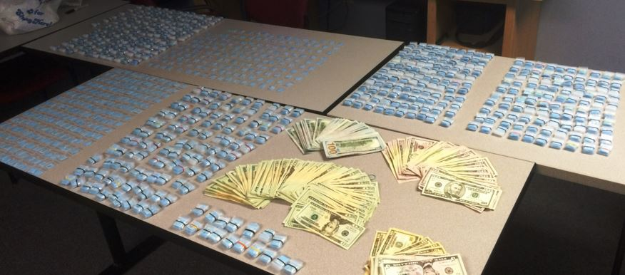 Drugs and other items seized at First State Inn on North DuPont Highway (U.S. 13) in Dover. (Photo: Dover police)
