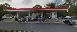Exxon gas station, 820 S. College Ave., Newark