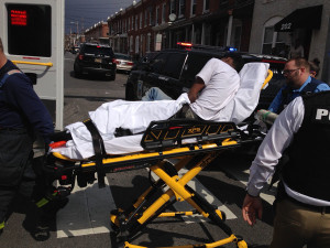 A 17-year-old boy was shot in the ankle in the 200 block of N. Franklin St. in Wilmington. (Photo: Delaware Free News)