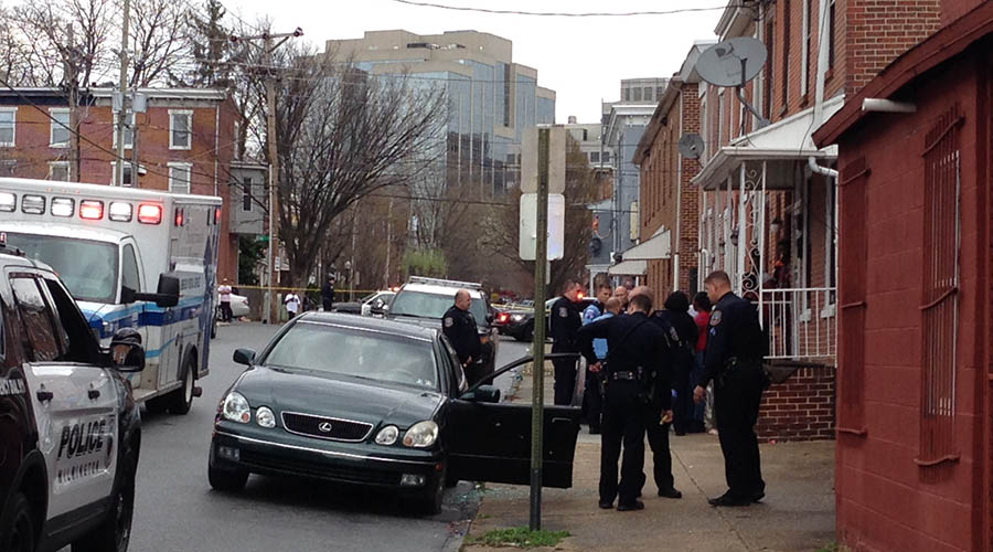 Wilmington police investigate shooting in the 700 block of N. Monroe St. (Photo: Delaware Free News)