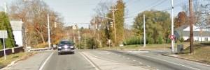Newport Gap Pike at Faulkland Road