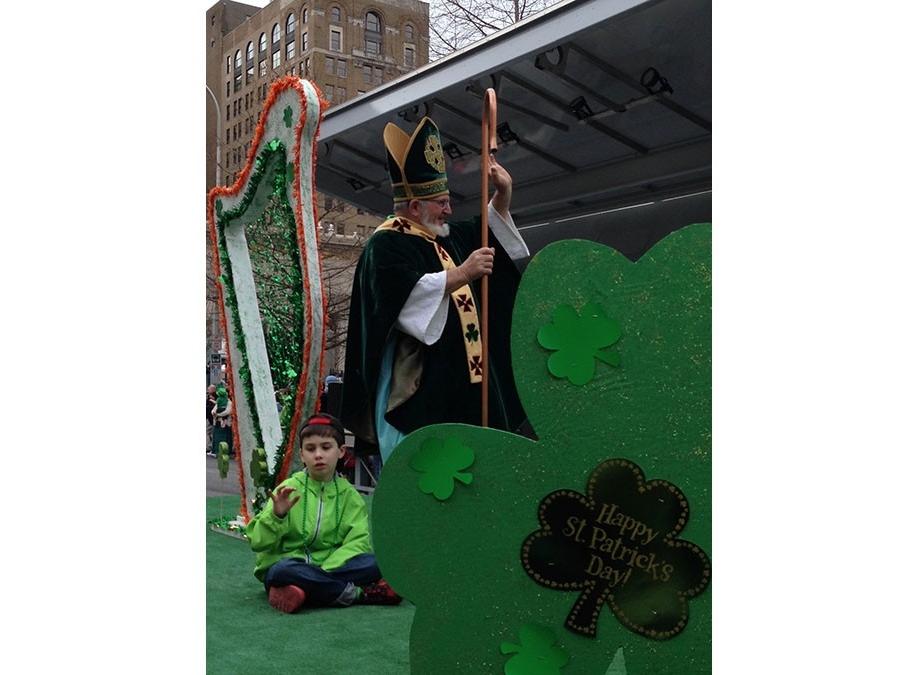 St. Patrick's Day parade in Wilmington, Delaware