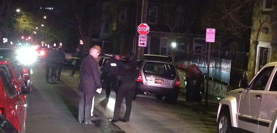 Wilmington police investigate shooting on West Seventh Street. (Photo: Delaware Free News)