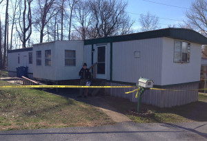 Man was found dead at home on Indiana Road in the Park Place Mobile Home Park. (Photo: Delaware Free News)