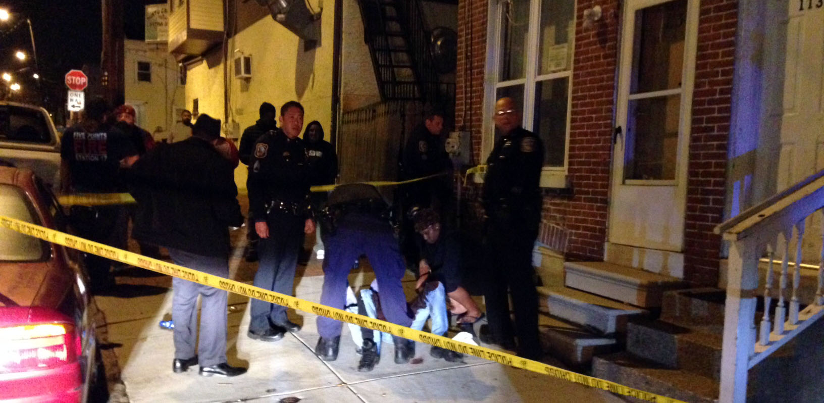 Wilmington police investigate shooting in the 1100 block of Read St. (Photo: Delaware Free News)