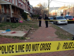 Police investigate stabbing on North Monroe Street in Wilmington. (Photo: Delaware Free News)