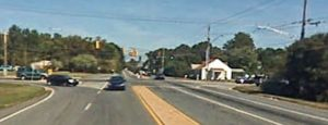 Old Baltimore Pike at Pleasant Valley Road (Photo: Google maps)