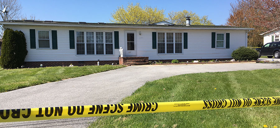 New Castle County police are investigating the shooting of a 19-year-old woman in the 800 block of Seymour Road in the Fairwinds development. (Photo: Delaware Free News)