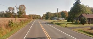 Willow Grove Road (Route 10) west of Farm Road (Phoo: Google maps)