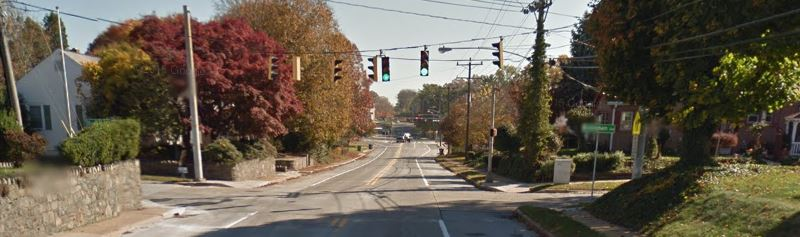 Boxwood Road at Overland and Birmingham avenues south of Elsmere (Photo: Google maps)