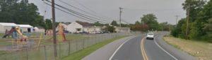 Iron Branch Road at East Millsboro Elementary School (Photo: Google maps)
