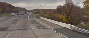 Southbound I-95 ramp for northbound Route 896 (Photo: Google maps)