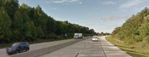 Summit Bridge Road north of the Chesapeake & Delaware Canal (Photo: Google maps)