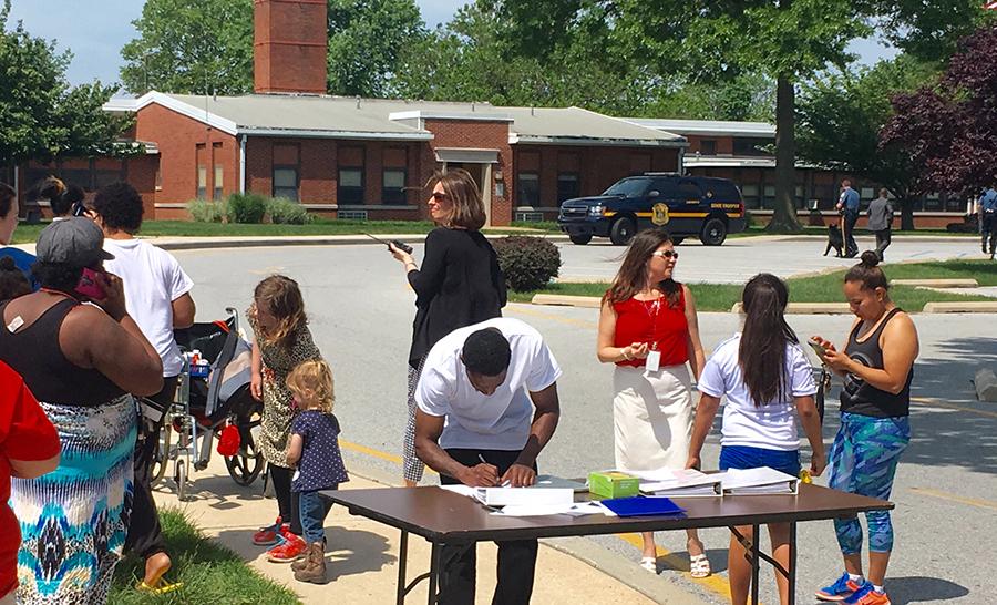 Bomb threat forced evacuation of Wilmington Manor Elementary School near New Castle. (Photo: Delaware Free News)