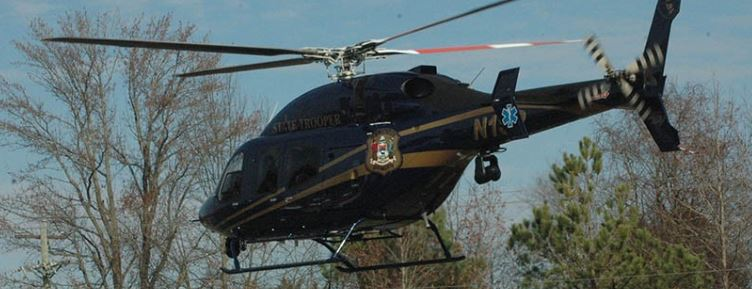 A Delaware State Police helicopter (Photo: Delaware Free News)