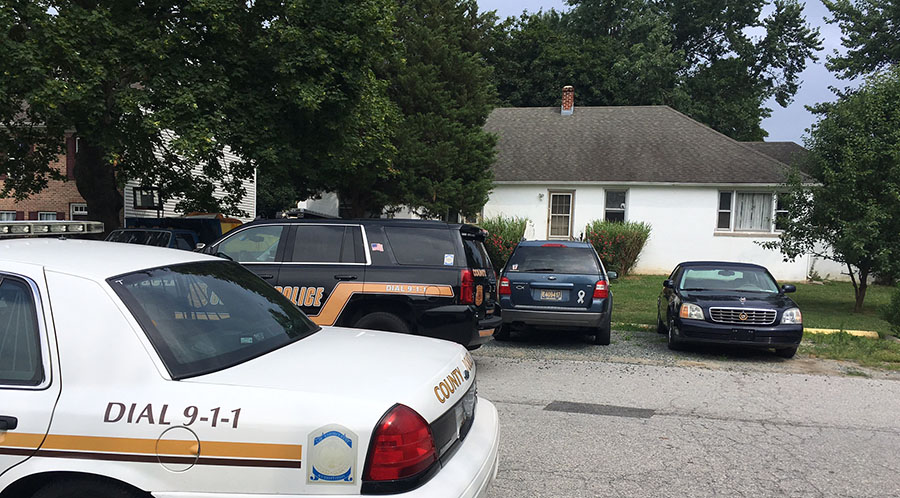 Woman was found shot to death in basement apartment in 200 block of Adam St. in Delaware City. (Photo: Delaware Free News)