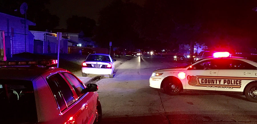 Police investigate shooting in Hillside Heights neighborhood. (Photo: Delaware Free News)